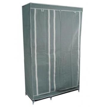 Шкаф – гардероб( 2 секции), серый