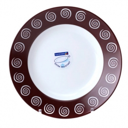 Тарелка суповая Luminarc Sirocco Brown G-4123