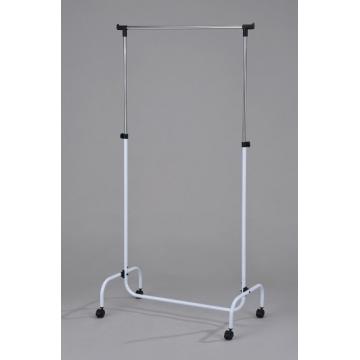 Стойка вешалка для одежды одинарная 4001-WT-RD-BLU