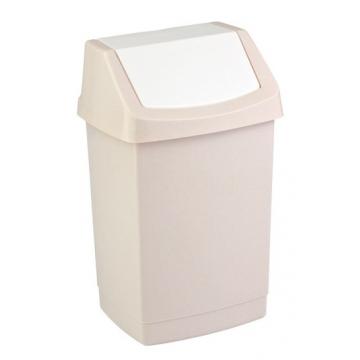 """Ведро для мусора с качающейся крышкой """"CLICK-IT"""" 15L, 04043"""