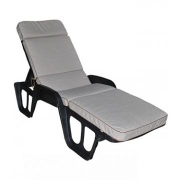 Матрас для лежака с валиком Ergo дралон, толщина 7 см