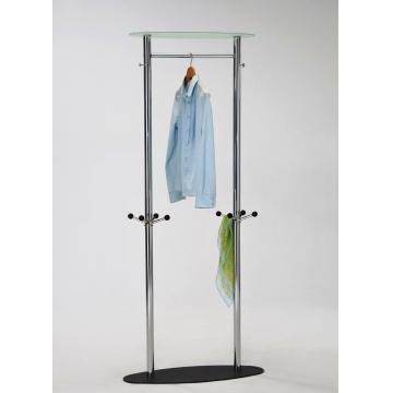 Напольная стойка для одежды островная 4626