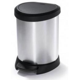 """Контейнер для мусора металлизированный """"DECO BIN"""" 5L"""