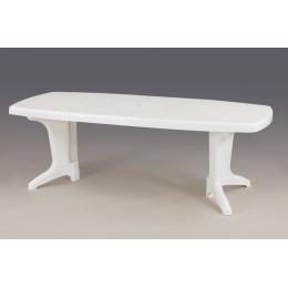 Стол пластиковый раскладной POSITANO белый