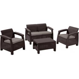 "Комплект ""Корфу викенд 3"" (диван + 2 кресла +стол)"