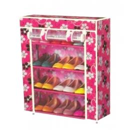 Шкаф для обуви тканевый цветной 4750