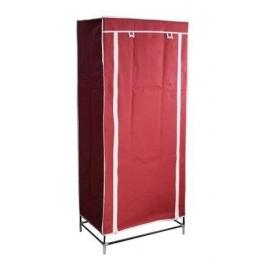 Тканевый шкаф (1 секция), бордовый 45060002