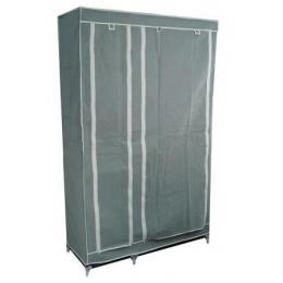 Шкаф – гардероб( 2 секции), серый 45070003