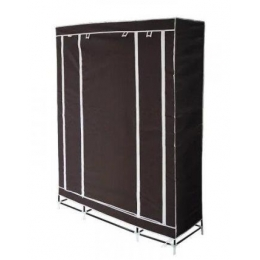 Шкаф-органайзер (3 секции), коричневый