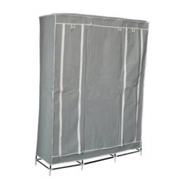 Шкаф-органайзер (3 секции), серый 45080004
