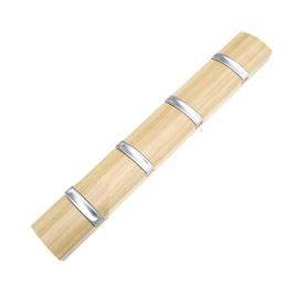 Вешалка настенная деревянная ольха CH-4704-OAK
