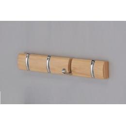 Вешалка настенная деревянная ольха 4704