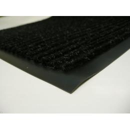 Влаговпитывающий коврик придверный с кантом 60 х 90 черный
