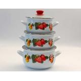 Набор посуды Interos Клубника 1116