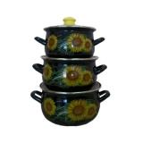 Набор посуды Interos Солнечный цвет 2517