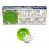 Сервиз чайный Luminarc Aime Carina Paquerette Green G-1988