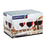 Набор бокалов для вина Luminarc French Brasserie G-4828