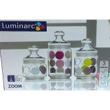 Набор банок Luminarc Kyoko White H-9972