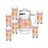 Набор для напитков Luminarc Poeme Pink D-2337