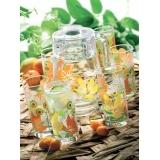 Набор для напитков Luminarc Pop Flowers Orange D-3183