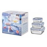 Набор пищевых контейнеров Luminarc Pure Box G-8598