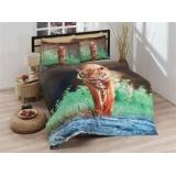 Комплект постельного белья 2х-спальный Ozdilek LUX-Tiger 72-138-122
