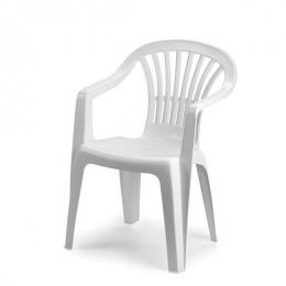 Кресло пластиковое Ole,Altea белое