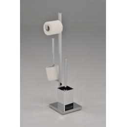 Держатель для туалетной бумаги с ершом BS-1435