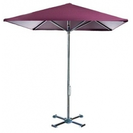 Зонт садовый квадратный, диаметр 2,5 м (oxford)
