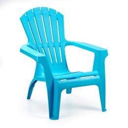 Кресло пластиковое Dolomiti голубой