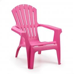Кресло пластиковое Dolomiti розовый