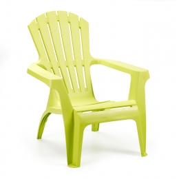 Кресло пластиковое Dolomiti салатовый