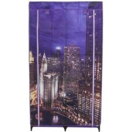 Шкаф гардероб текстильний City and Lights