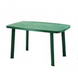 Стол пластиковый Faro зеленый