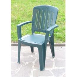 Стул кресло пластиковое Florence зеленый
