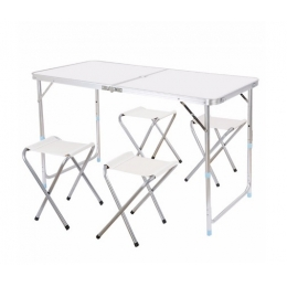 Набор Folding Table 120*60 cm White