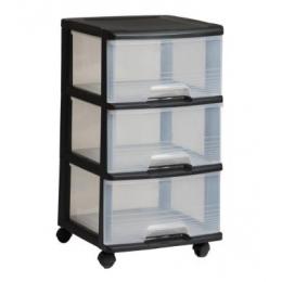 Комод прозрачный на 3 ящика