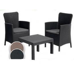 Комплект садовой мебели Salvador стол и два кресла