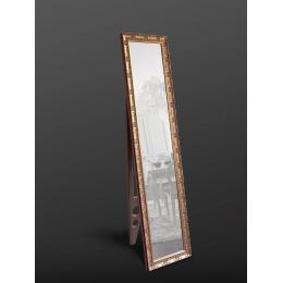 Напольное зеркало в золотом цвете 1650 х 400 мм