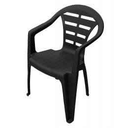 Кресло пластиковое MOYO антрацит