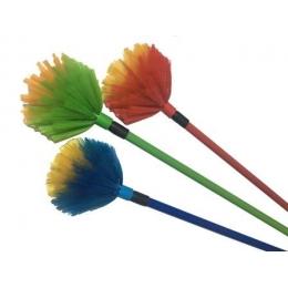 Метелка для пыли антистатик ПАУТИНКА 90-195 см