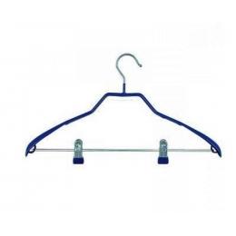 Вешалка для костюмов с прищепками 05175