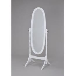 Зеркало вращающееся (дерево белое) MS-8007-WT