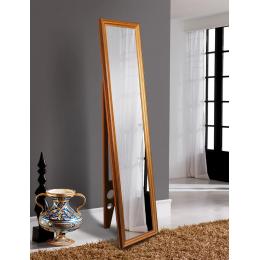 Напольное зеркало Wave gold 1650 х 400 мм
