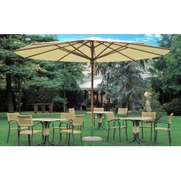 """Зонт для летней площадки """"Соло"""", диаметр 4м"""